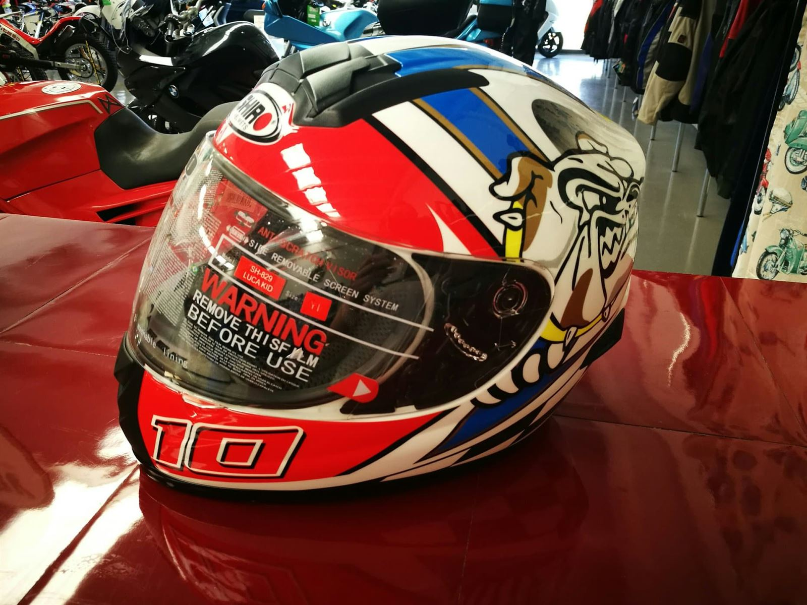 Casco integral Shiro SH-829 Luca Kid junior - Imagen 3